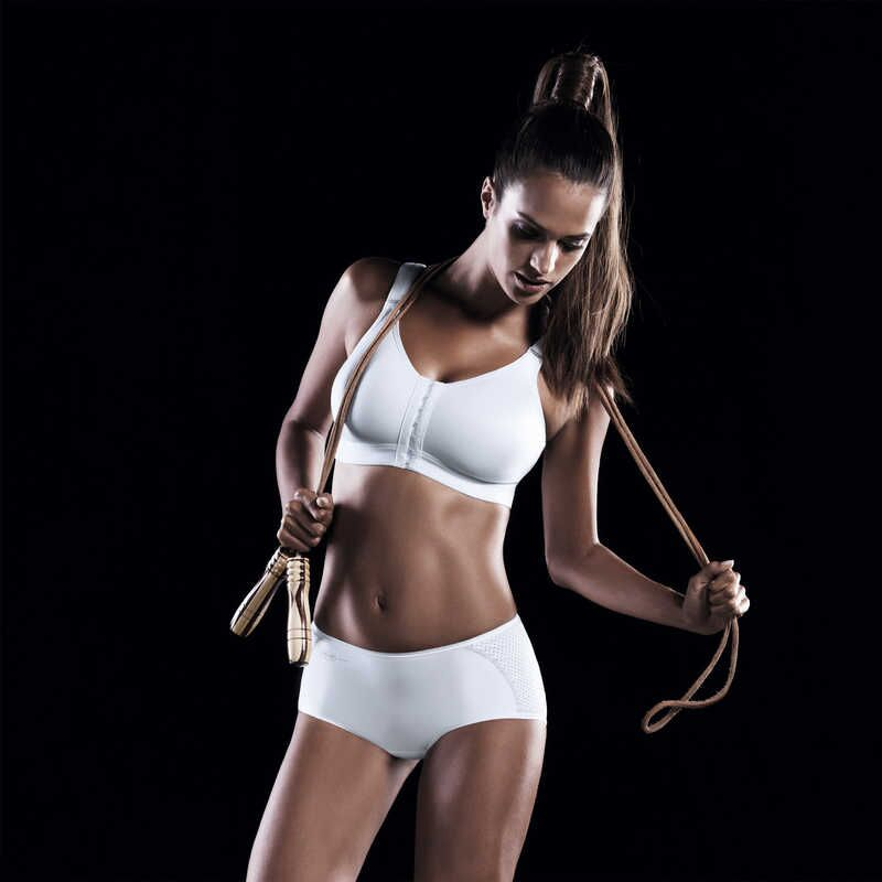Frontline Open - Front Closure Sports Bra