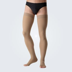Belsana Classic With Cotton Thigh Length Compression Stockings