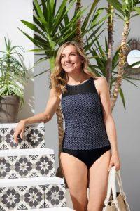 Ayon Half Bodice Swimsuit   Post Surgery Swimsuit