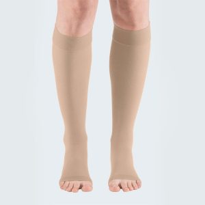 Mediven Plus Below the Knee Open Toe Compression Stockings