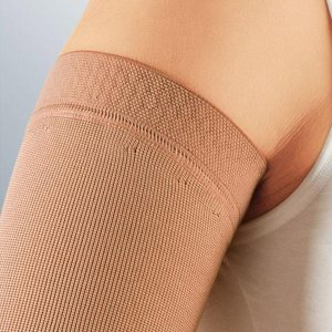 Silicone topband of Mediven Esprit compression sleeve