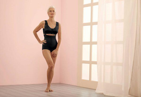 Post op bra for breast swelling