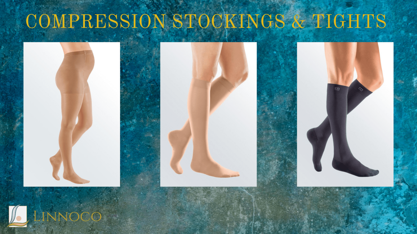 Compression garments for legs